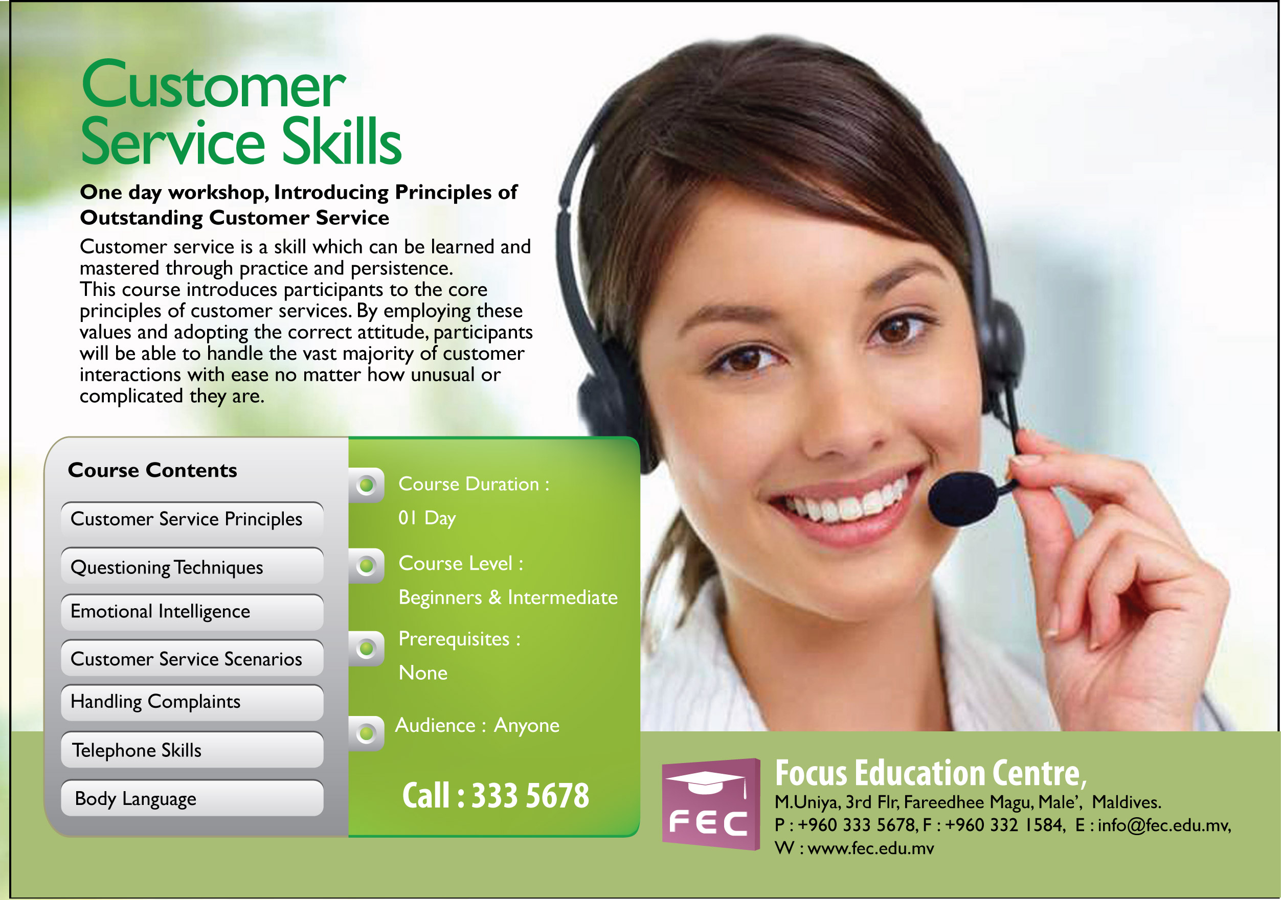 customer service abilities customer service abilities
